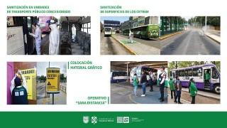 Tarjeta Informativa: Medidas tomadas dentro de los Centros de Transferencia Modal Ante la emergencia sanitaria de COVID-19